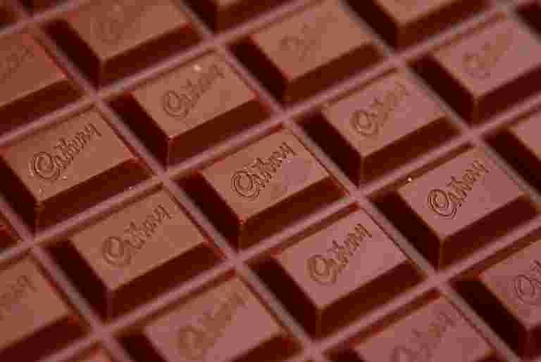 由于印度农村为巧克力造成味道,占主导地位的Mondelez延伸