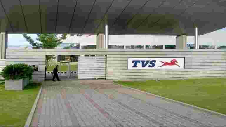 电视电机在ev投资组合上工作; CO接近净债务:联合MD Sudarshan Venu