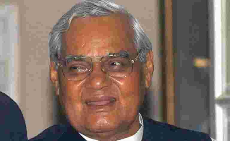 交易商关闭商店向Atal Bihari Vajpayee致敬