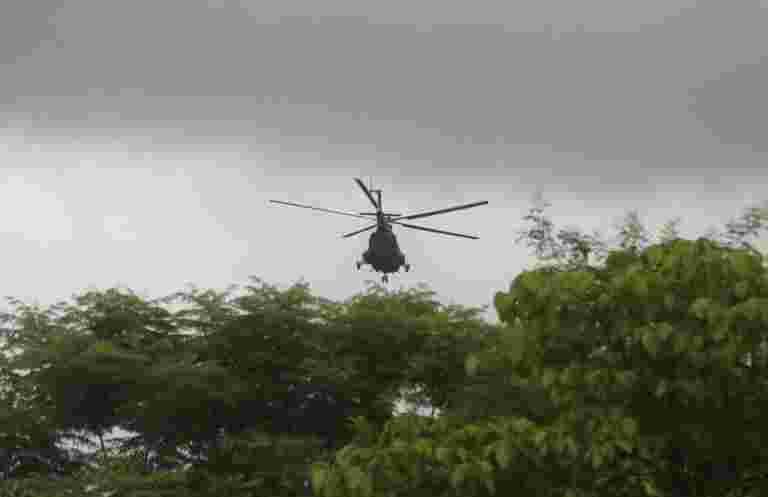 国防部说,在洪水袭击喀拉拉邦救出了3,600多人