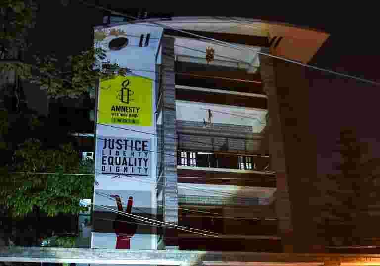 大赦说,在印度办公室袭击旨在沉默政府批评者