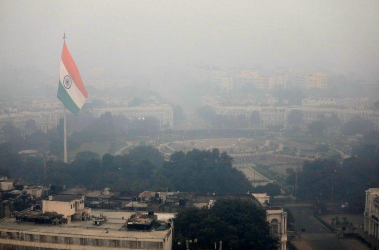 世界上最多3个污染的城市都在印度