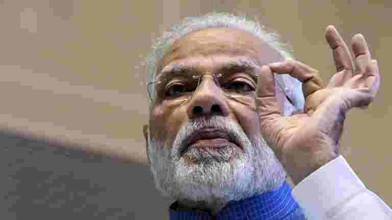 """Modi在2018年""""评论中,保留了印度的顶级新闻制造商标签"""""""
